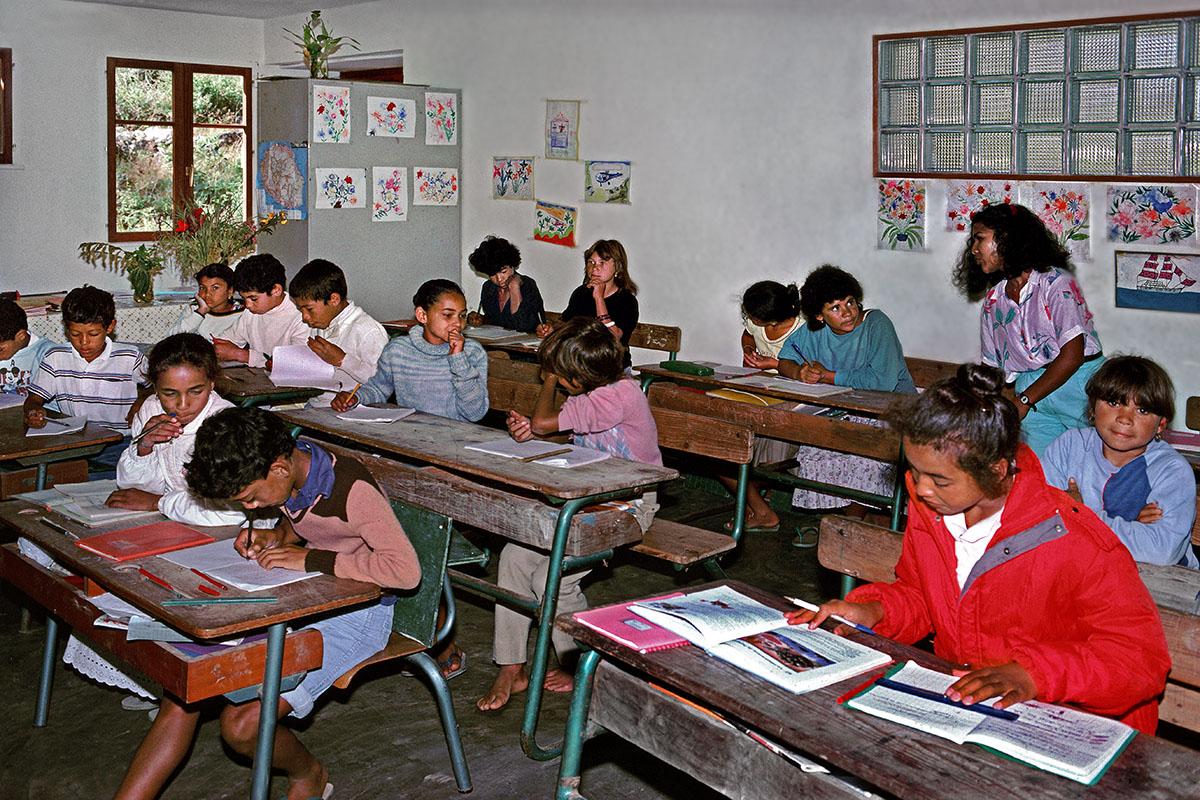 La classe des grands-La Nouvelle en 1983