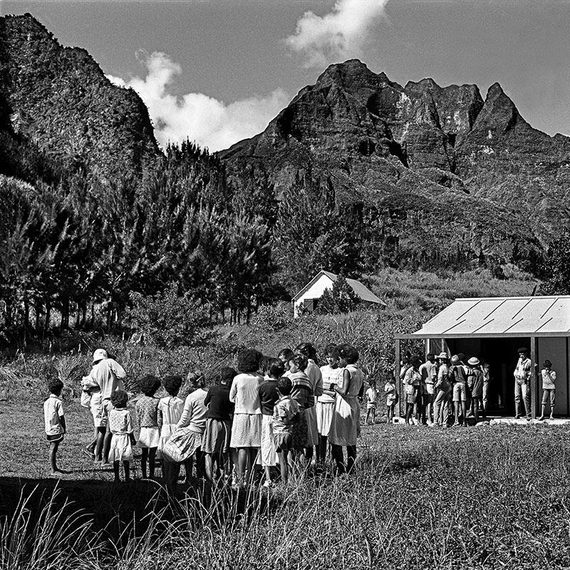 L'école, sur le plateau d'Ilet à Malheur