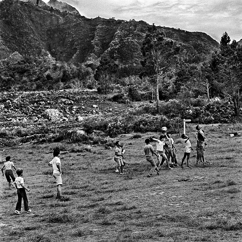 Partie de foot à La Nouvelle-1983