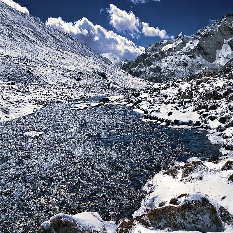 Point Zéro, 4832 m, fin de la route - Sikkim (Inde)