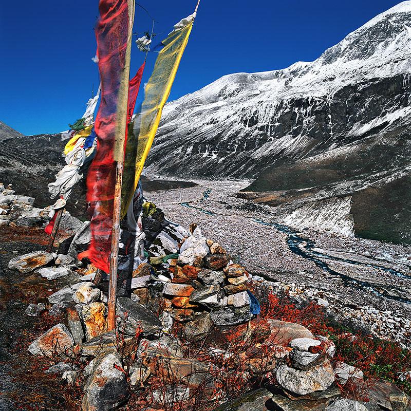 La Testa River en montant vers Point Zéro - Sikkim (Inde)