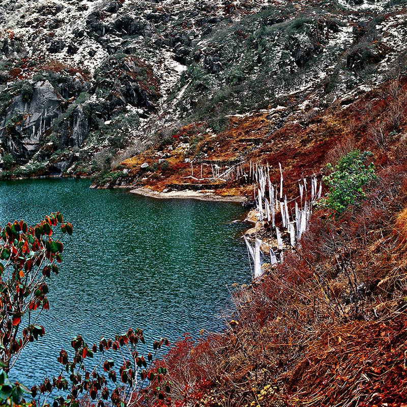 Tsomgo Lake, lac sacré, 3753 m - Sikkim (Inde)