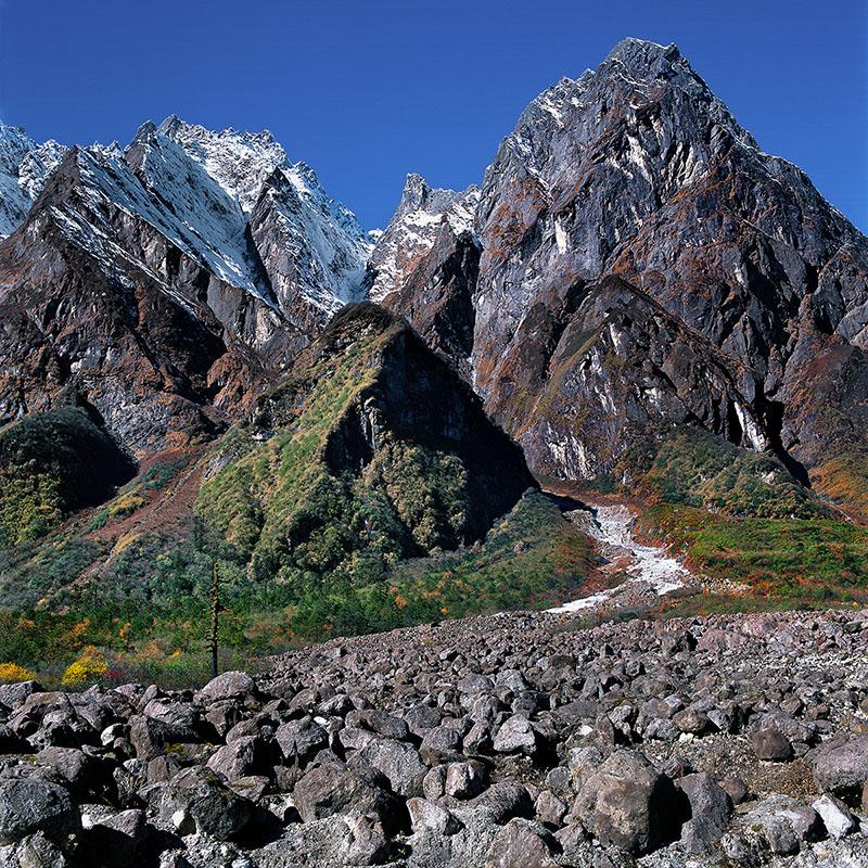 Route de Point Zéro - Sikkim (Inde)