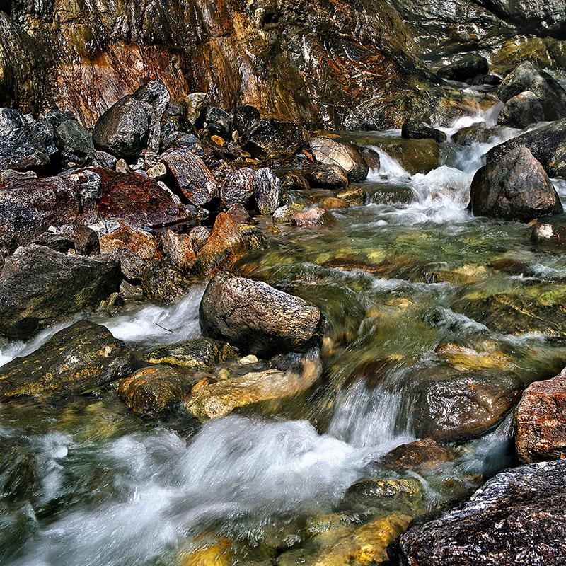 Twin falls, route de Pelling - Sikkim (Inde)