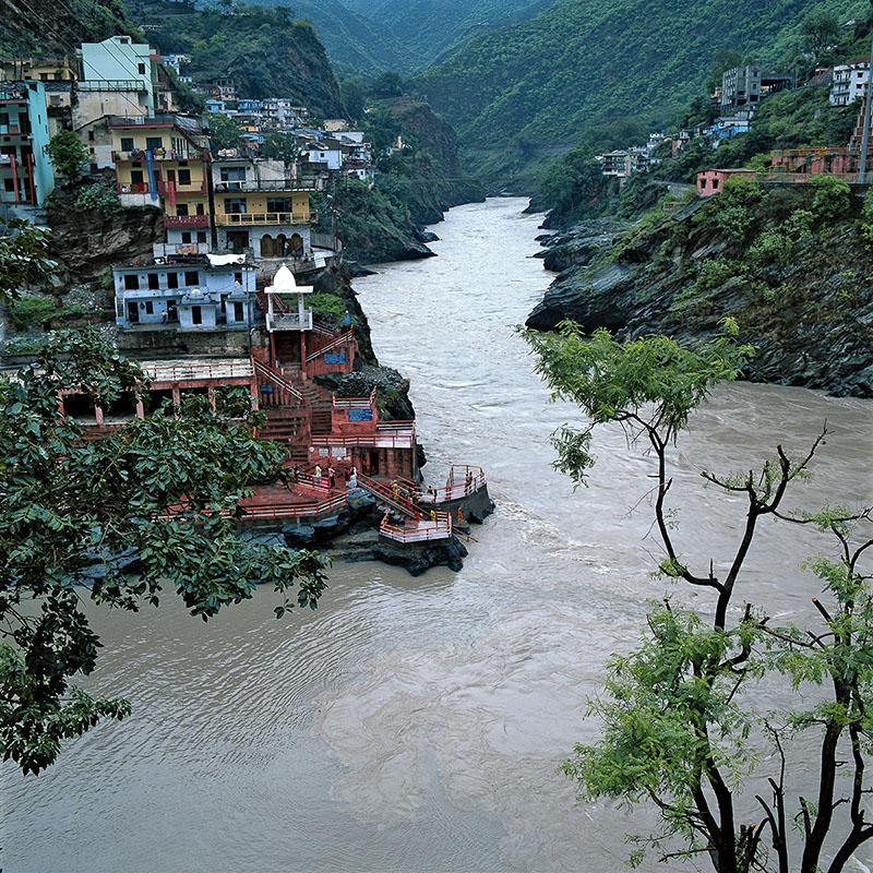 Confluence de Deoprayag (Inde)