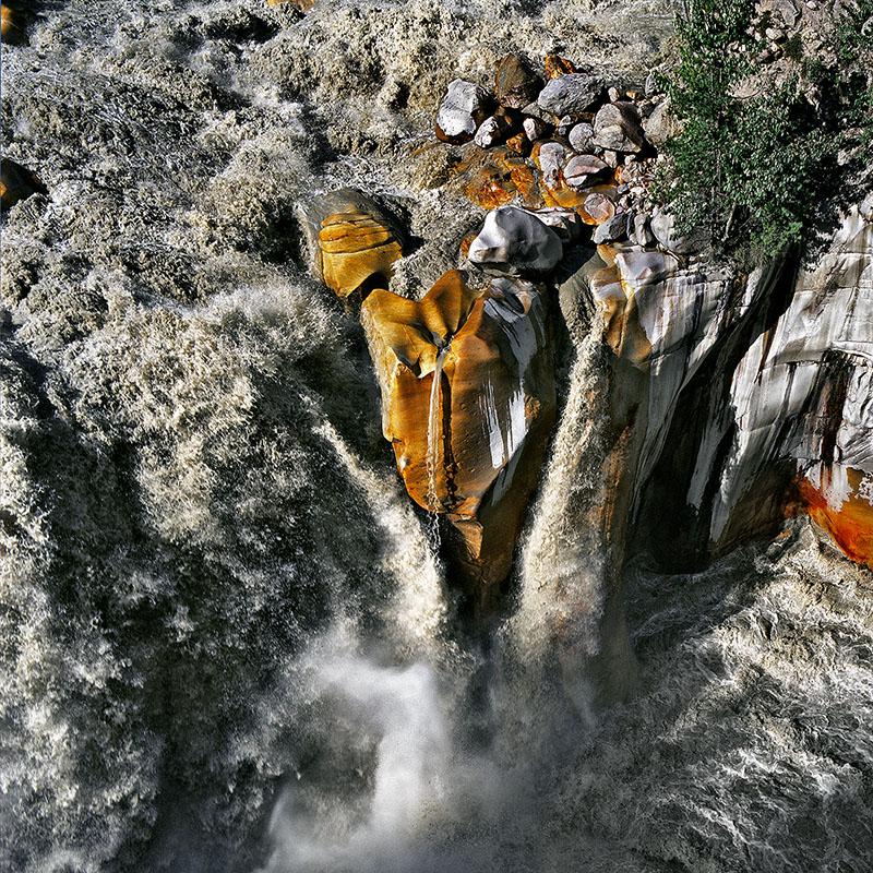 Cascades du Gange à Gangotri – Inde