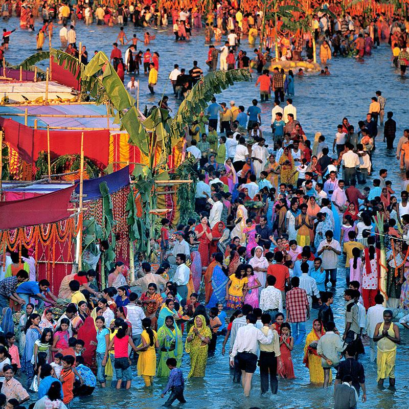 Chhatha Puja - Siliguri, Bengale-Occidental (Inde)