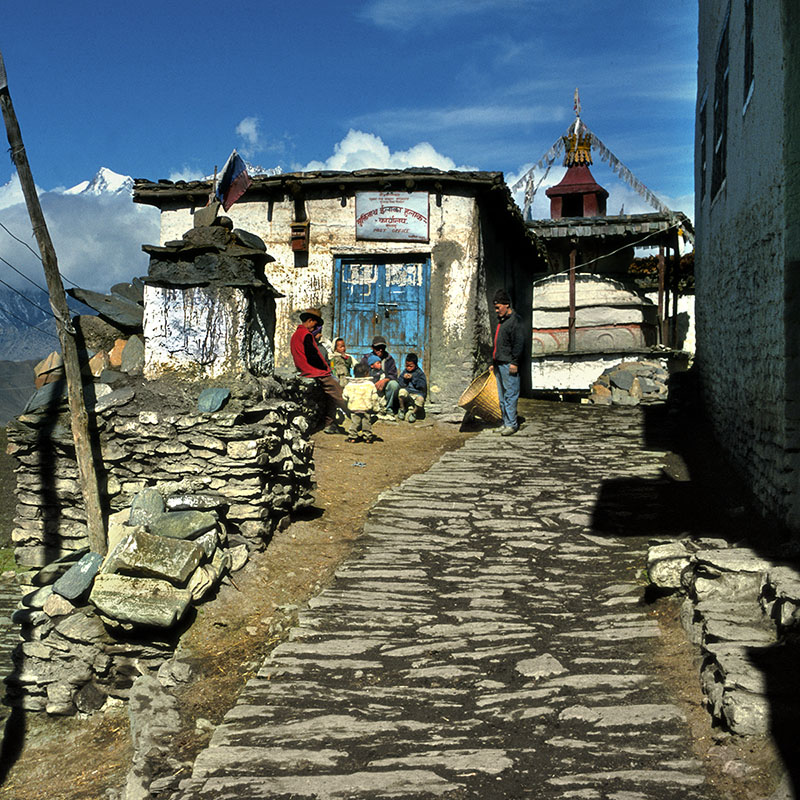 Bureau de Poste de Muktinath, 3800 m - Népal