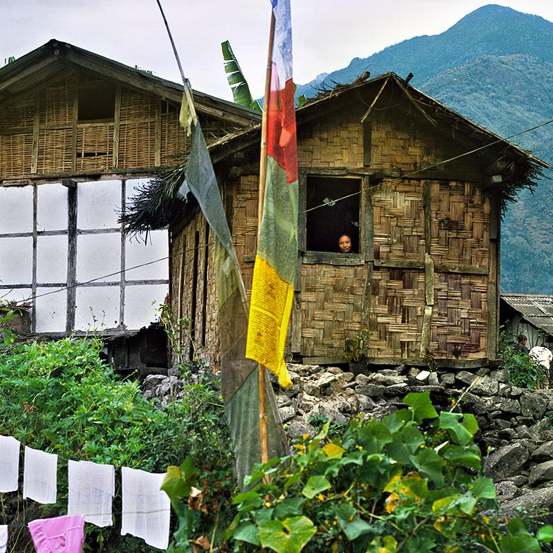 Route de Thanggu - Sikkim (Inde)
