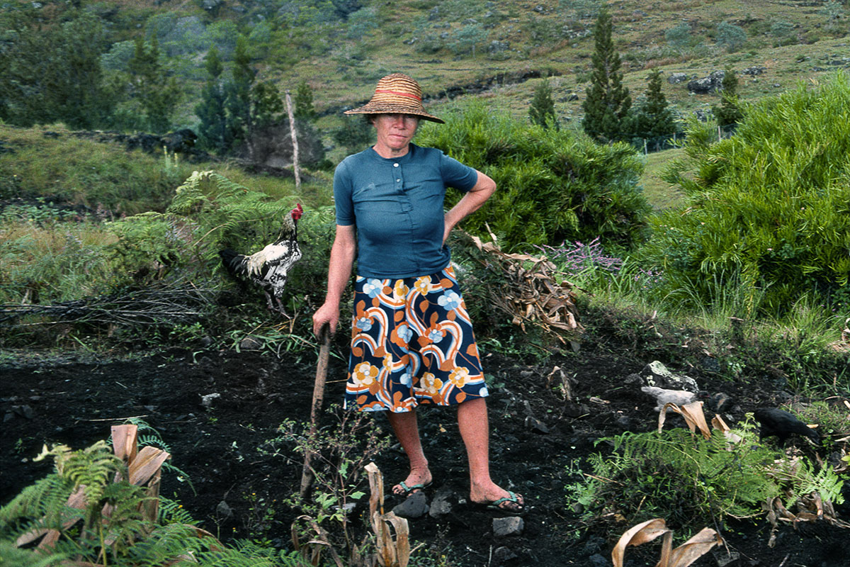 Antonine au champ - Marla