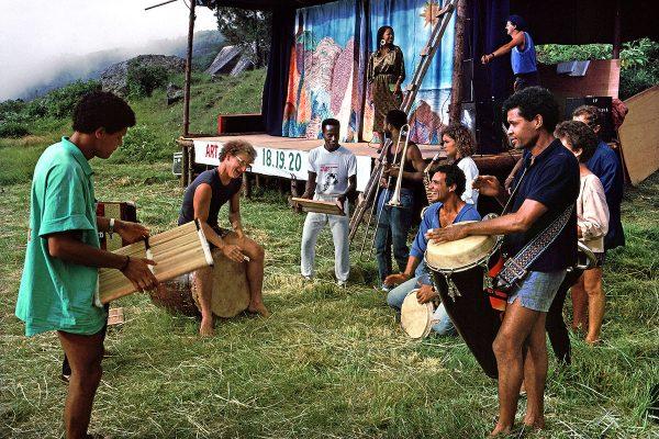 Daniel Waro a animé le festival – La Nouvelle