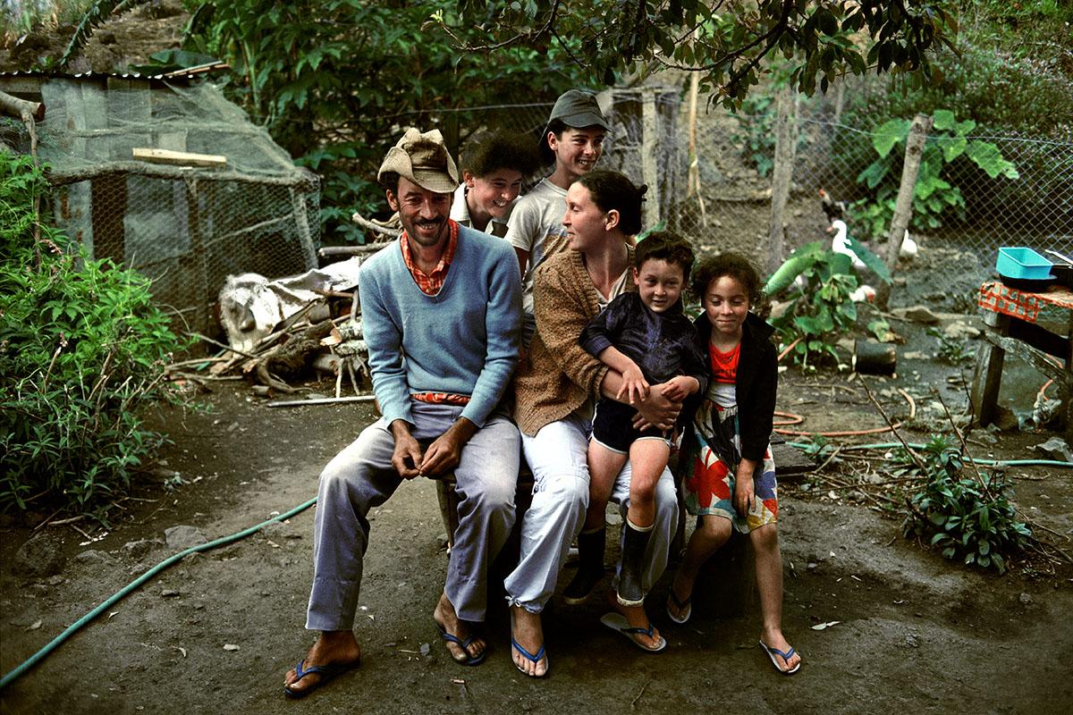 La famille d'Expédit Hoareau