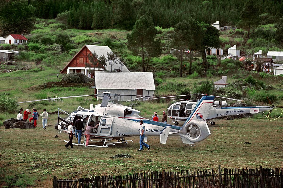 Le ballet d'hélicoptères de touristes – La Nouvelle
