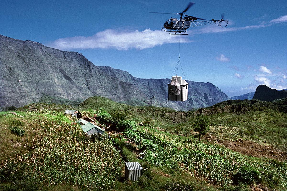 Transport des sanitaires par hélicoptère - Marla