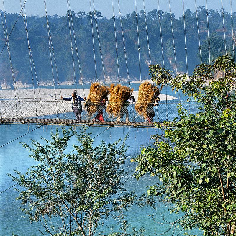 Entre deux rives - Devghat (Nepal)