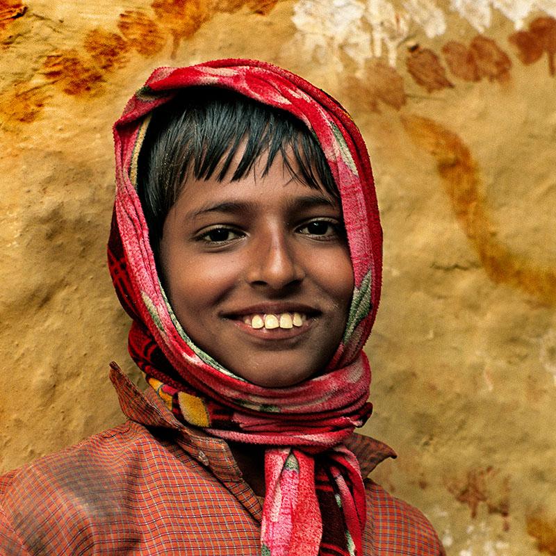 Sourire d'enfant - Janakpur, Téraï (Népal)
