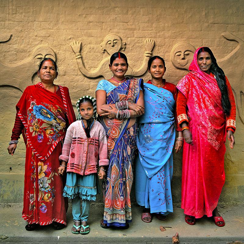 Femmes de la région de Bardia - Téraï (Népal)