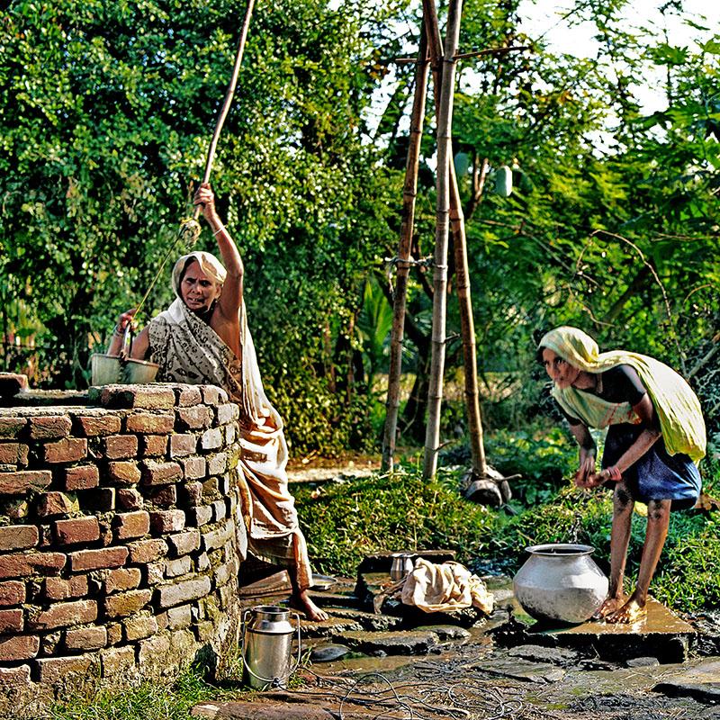Puits à balancier - Teraï (Népal)