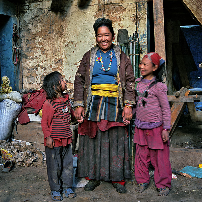 Village de Dangibada - Dolpo (Nepal)