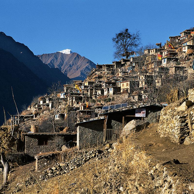 Village de Rahagon - Dolpo (Nepal)