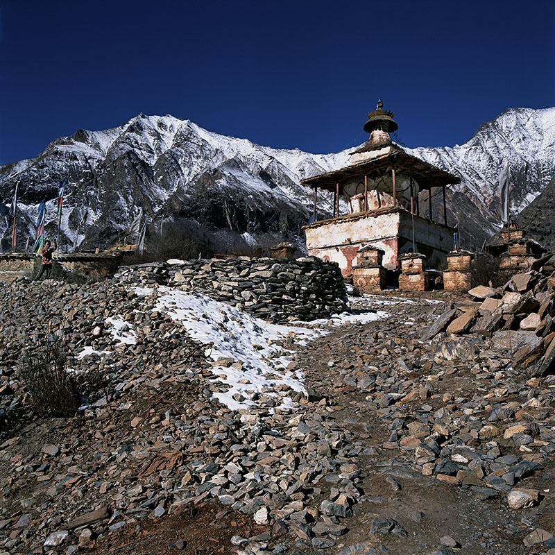 Village de Ringmo - Dolpo (Népal)