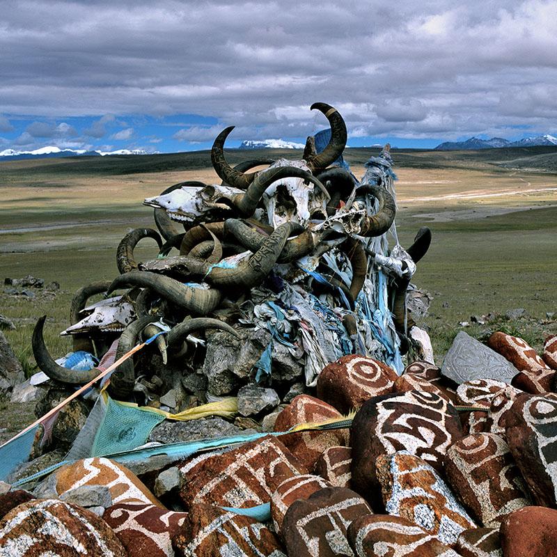 Mane - Hauteurs du Manasarovar, Tibet