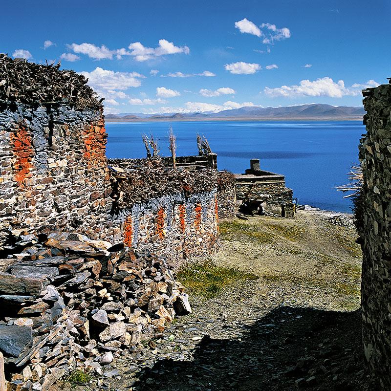 Village de Chiu Man Pu, 4705 m d'altitude - Peku Tso (Tibet)