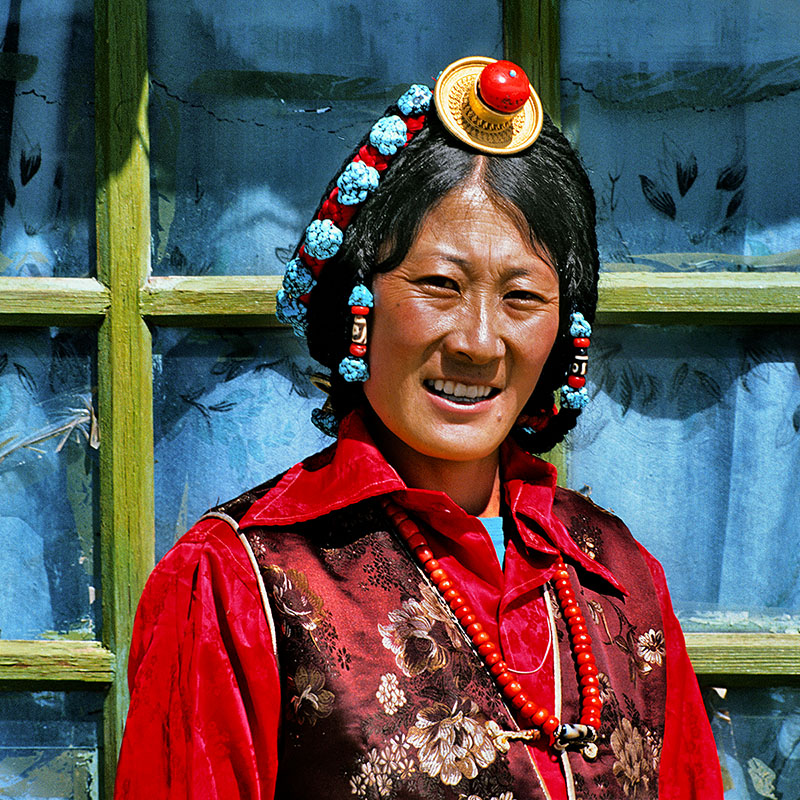 Femme de la région de Paryang – Tibet